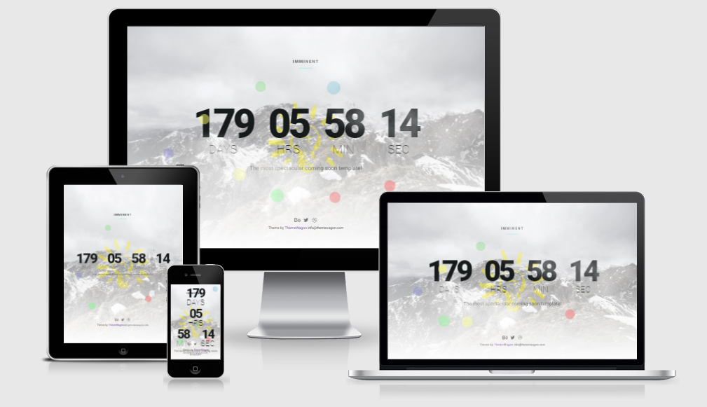 Imminent - free responsive template