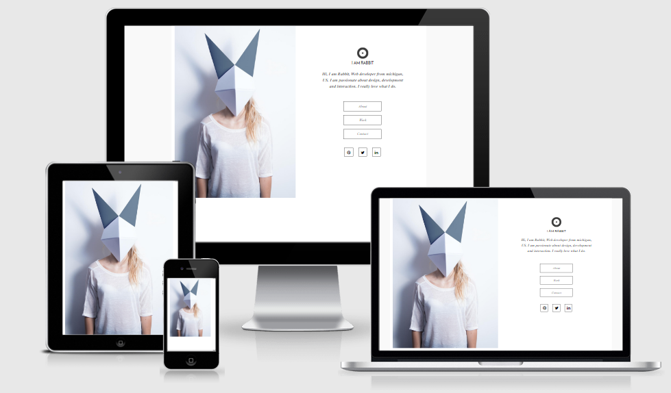 Rabbit - Free Responsive Template
