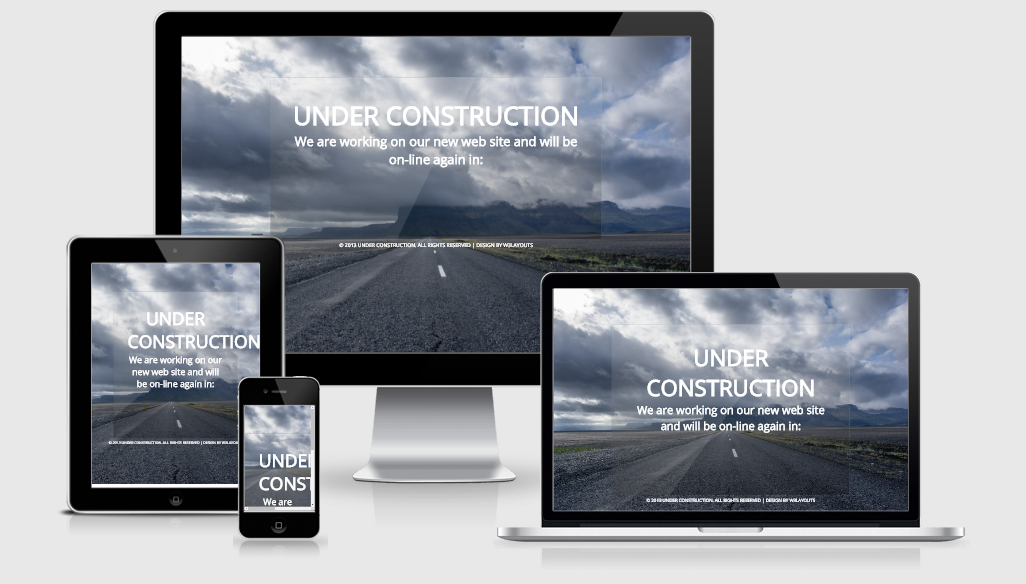 Under Construction - Free responsive template