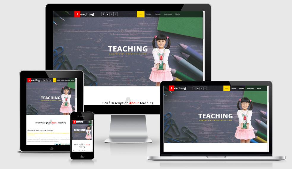 Teaching - Free Responsive Template