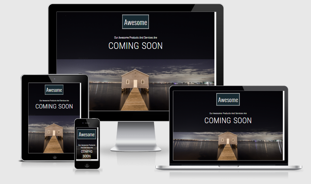 Awesome - Free responsive template