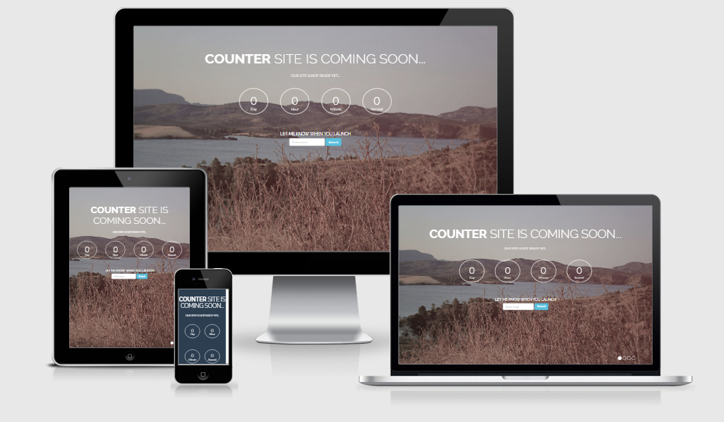 Counter - Free responsive template