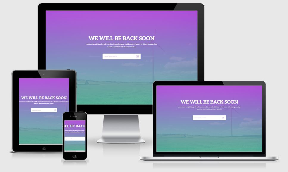 Notify coming soon template free download 2017