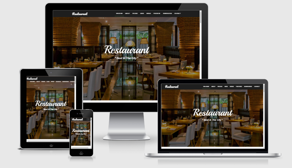 Restaurant - Free responsive template