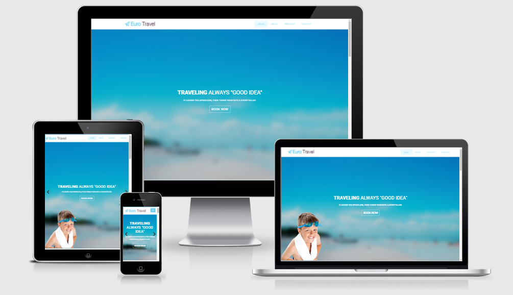 Euro Travel - Free responsive template