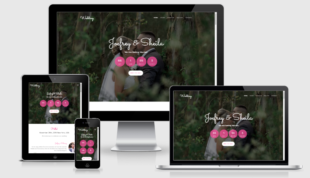 Wedding - Free Responsive Template