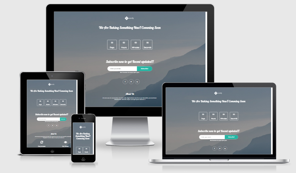 Moundy - Free responsive template