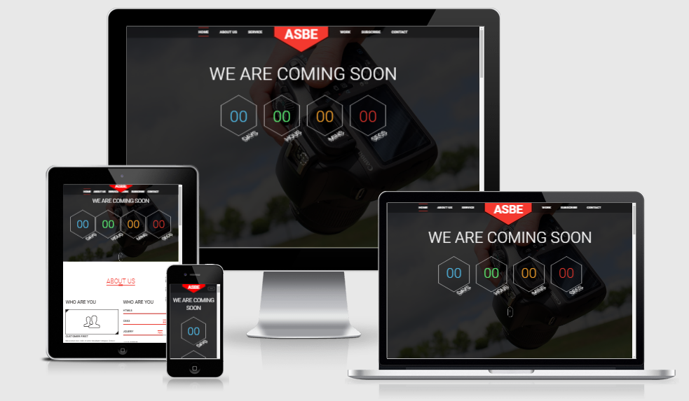 Asbe - Free responsive template