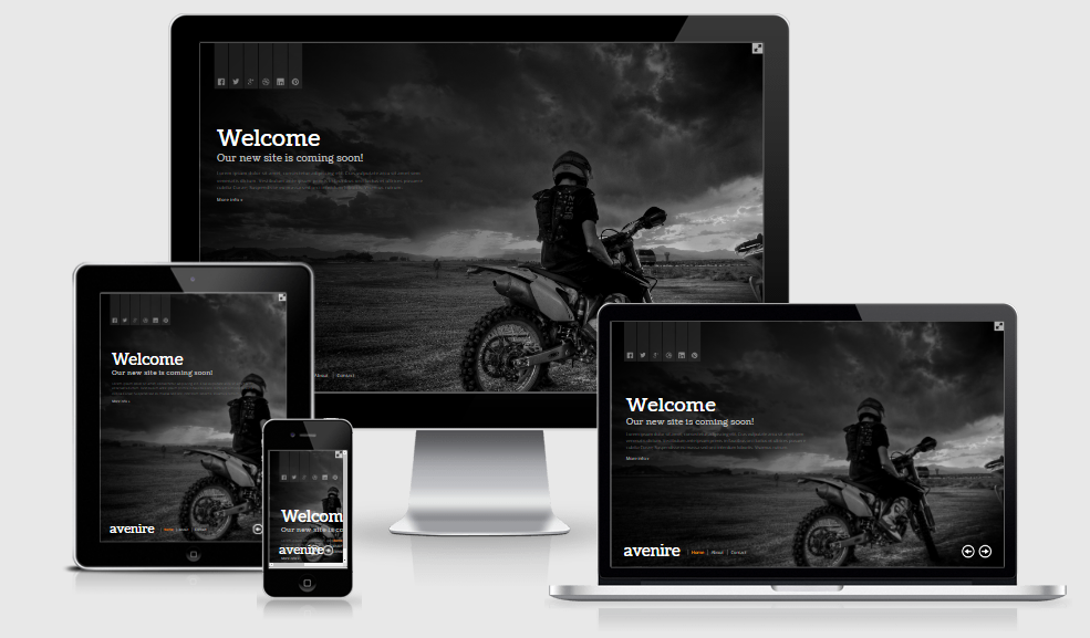 Welcome - Free responsive template