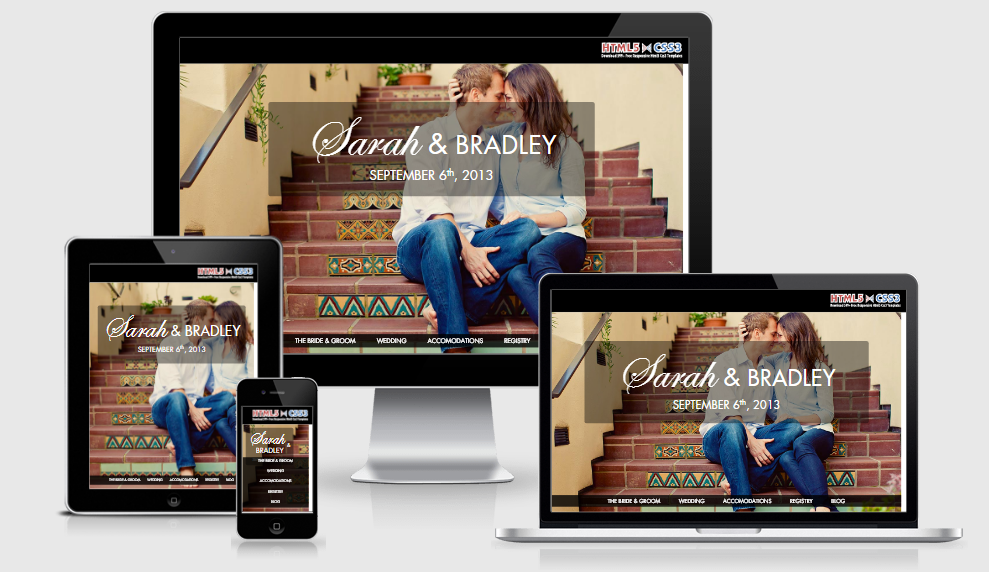 Wedding Master - Free Responsive Template