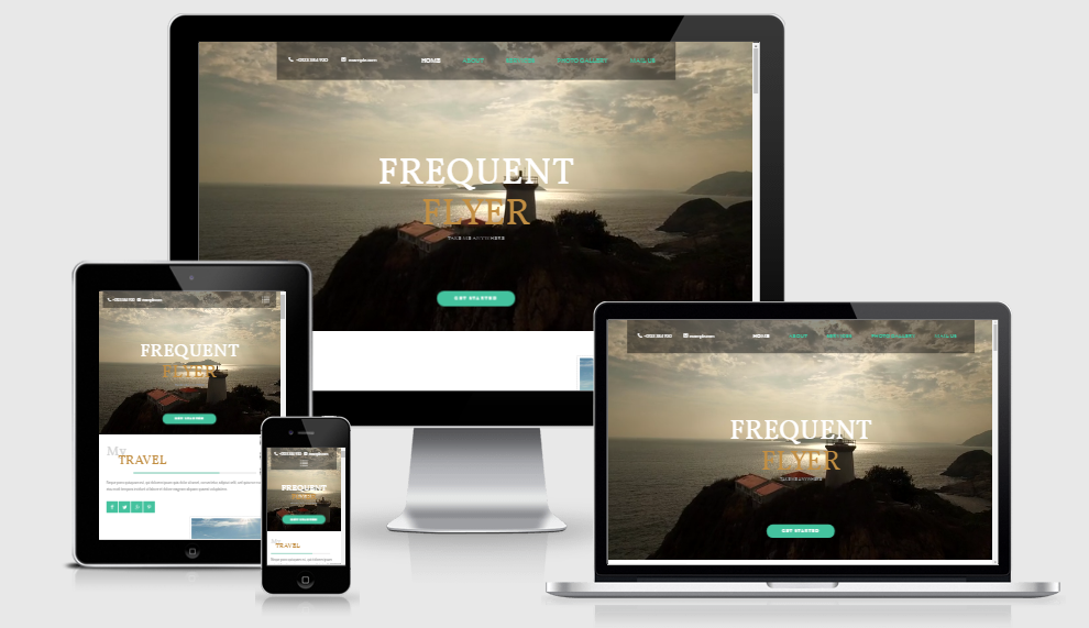 Flyer - Free responsive template