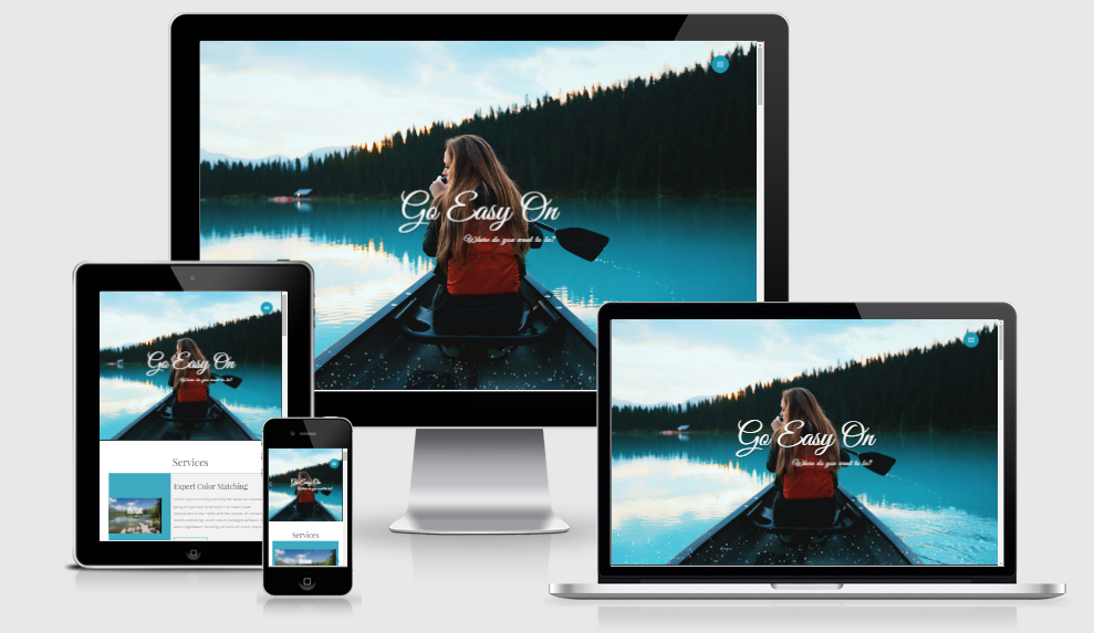 Go Easy On - Free responsive template