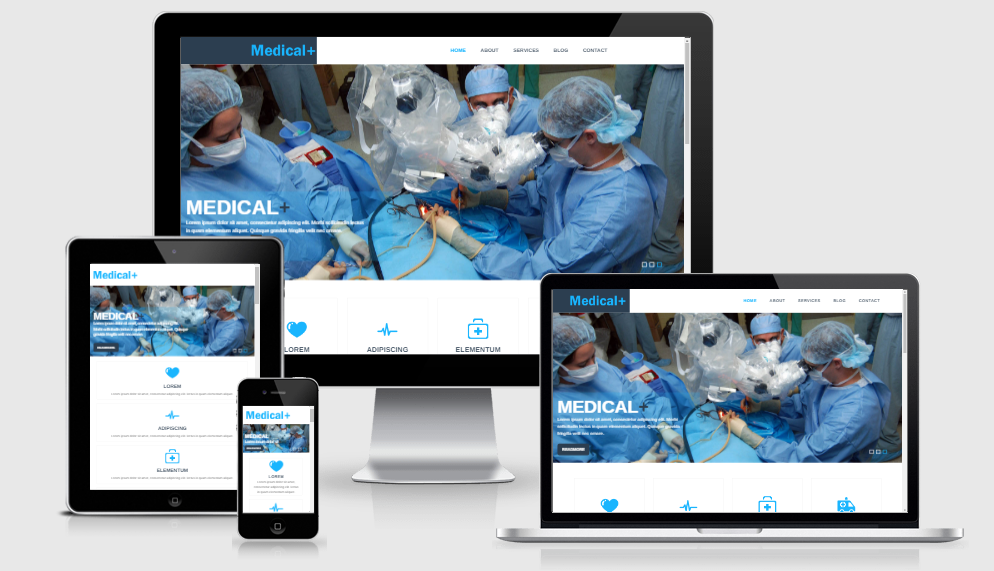 Medical Plus - Free responsive template