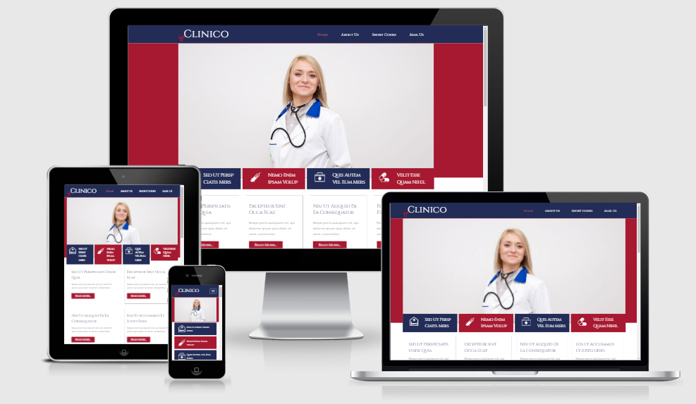 Clinico - Free responsive template