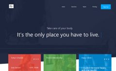 Responsive One Page Multipurpose Bootstrap Template Free Download