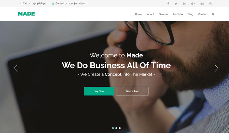 26 best corporate html templates free premium responsive and best corporate html templates cheaphphosting Gallery