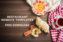 30 responsive html5 bootstrap based free restaurant template free