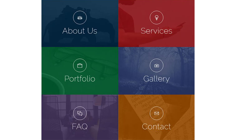 update of bootstrap 4 template