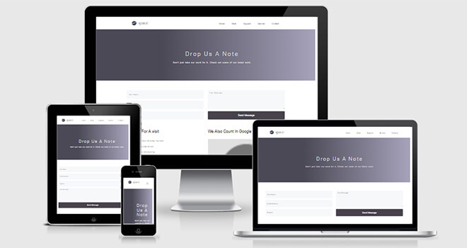 005. Space Agency free responsive bootstrap