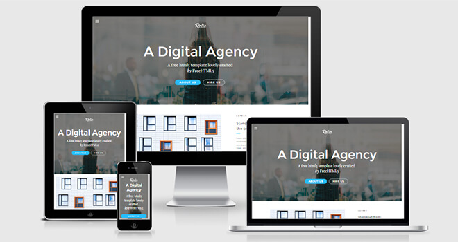 150+ Best Free Responsive HTML5 Bootstrap Template of Different
