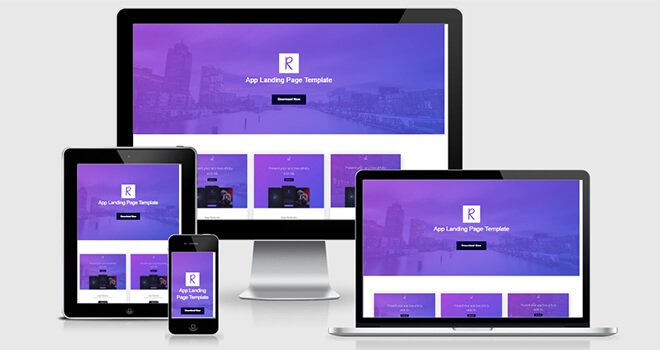 055. Rik free responsive bootstrap template