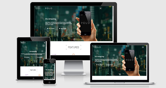057. Polo free responsive bootstrap template