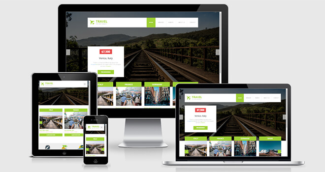 069. Travel free responsive bootstrap template
