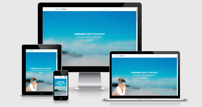 071. Euro Travel free responsive bootstrap template
