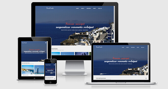 078. Travel Mate free responsive bootstrap template