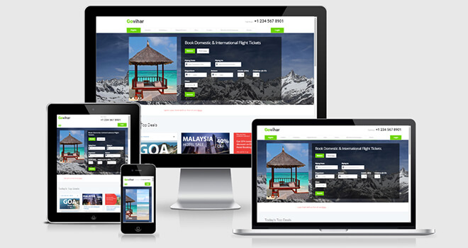 080. Govihar free responsive bootstrap template