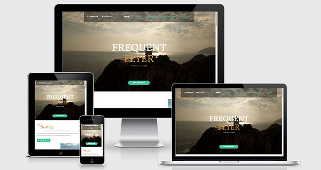 082. Flyer free responsive bootstrap template