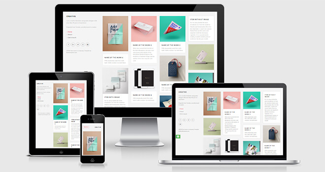 085. Creative free responsive bootstrap template