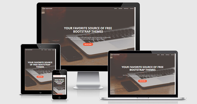 088. Creative free responsive bootstrap template