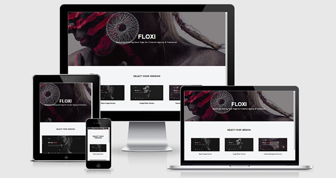 109. Floxi free responsive bootstrap template