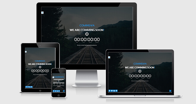 115. Comingwa free responsive bootstrap template