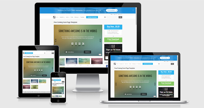 126. Flat free responsive bootstrap template
