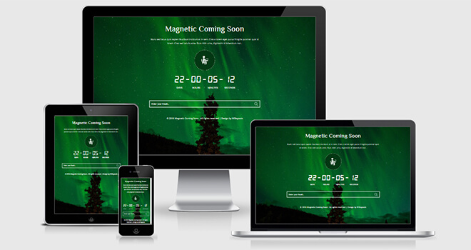 128. Magnetic free responsive bootstrap template