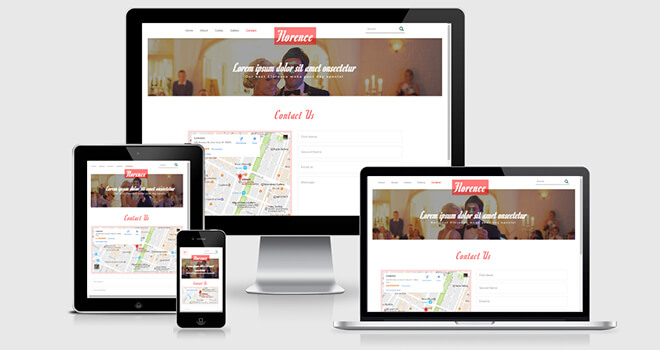 135. Florence free responsive bootstrap template