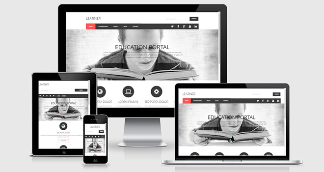 142. Learner free responsive bootstrap template