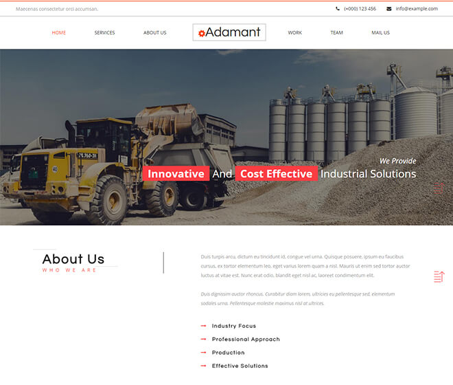 30 business website design template free download adamant business website design template cheaphphosting Image collections