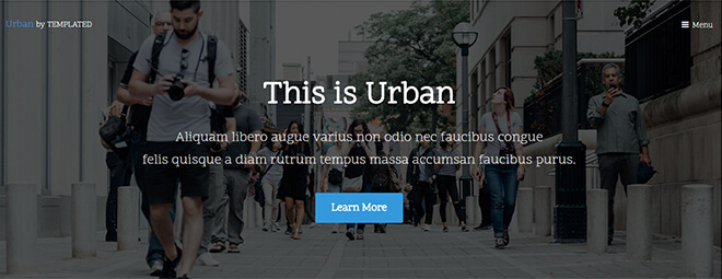 23.-Urban business website design template