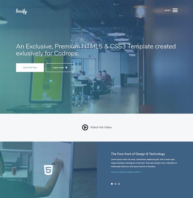 30 Business Website Design Template Free Download