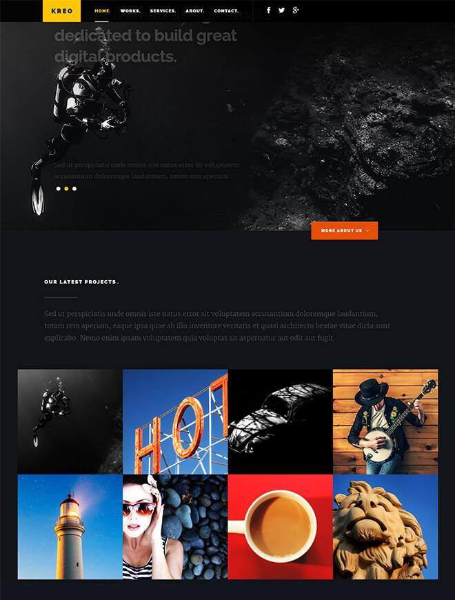 26.-Kreo business website design template
