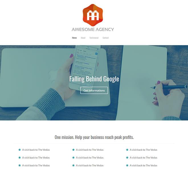 30.-Agency business website design template