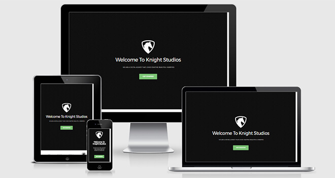 Knight-responsive Free One Page Multipurpose Responsive Bootstrap Template