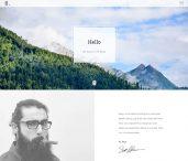 free responsive personal portfolio resume html5 template