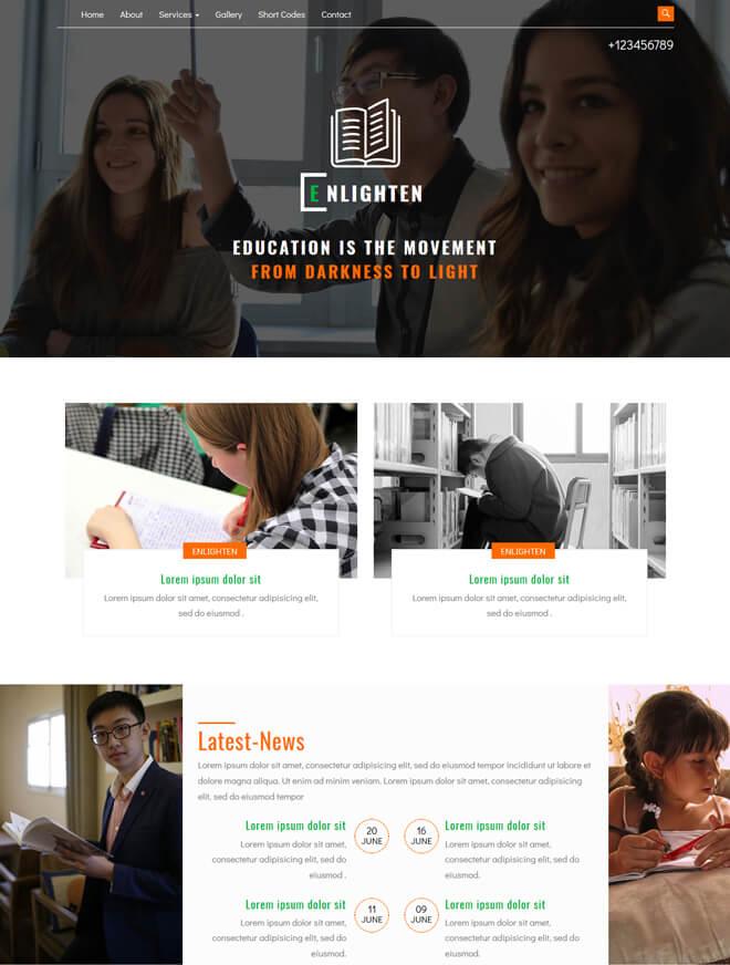 30 School College University Academic Free Online Education Website