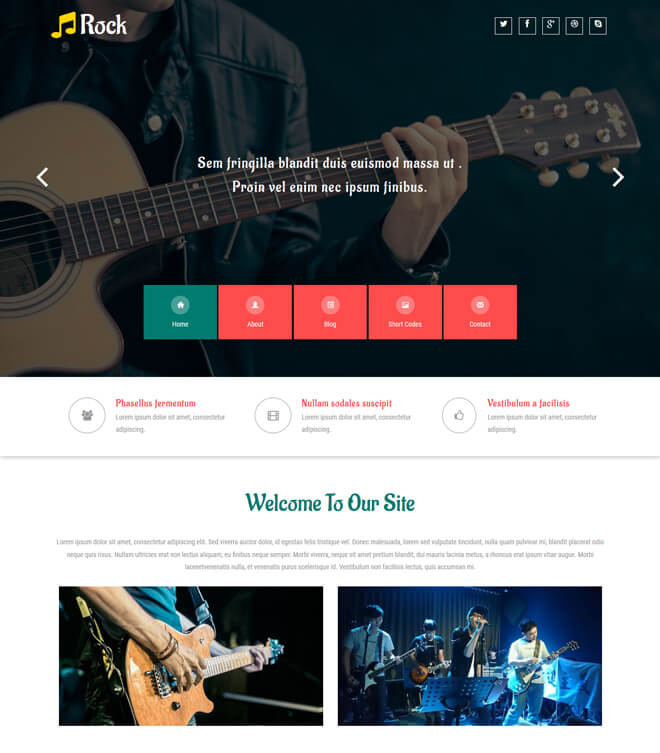 Free Event Bootstrap Template List of Best Quality HTML5 Templates