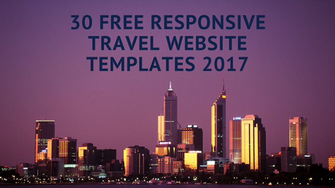 free business travel itinerary template