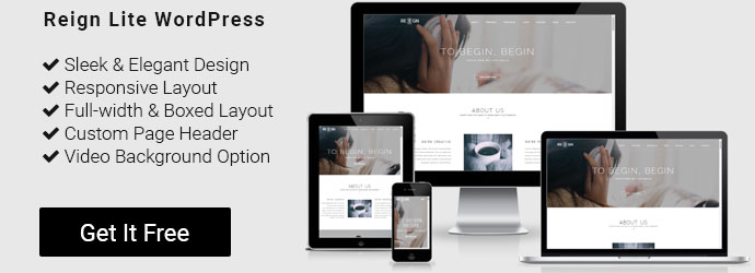 free WordPress corporate theme